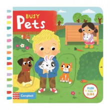 Busy Pets av Louise Forshaw (Pappbok)