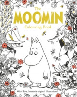 Omslag - The Moomin colouring book. With Tove Jansson's original illustrations