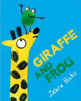 Omslag - Giraffe and Frog
