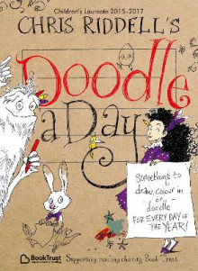 Chris Riddell's Doodle-A-Day av Chris Riddell (Heftet)