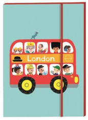 London Notebook A6 av Marion Billet (Bok uspesifisert)