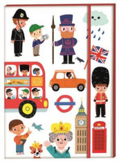 London Notebook A5 av Marion Billet (Bok uspesifisert)
