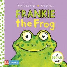 Frankie the Frog av Nick Denchfield (Innbundet)