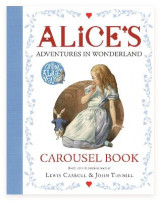 Omslag - Alice's Adventures in Wonderland Carousel Book