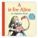 Omslag - A Is for Alice: An Alphabet Book