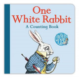 Omslag - One White Rabbit: A Counting Book