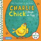 Omslag - Charlie Chick Finds an Egg
