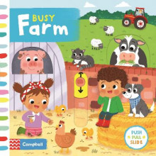 Busy Farm av Louise Forshaw (Pappbok)