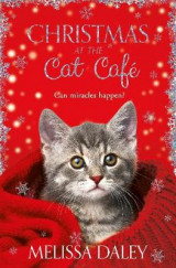Omslag - Christmas at the Cat Cafe