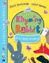 Omslag - The Rhyming Rabbit Sticker Book