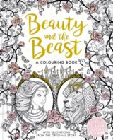 Omslag - The beauty and the beast colouring book
