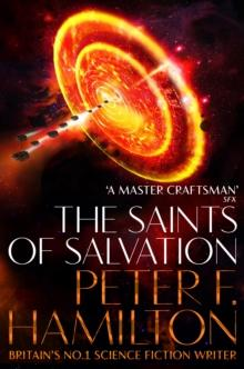 The saints of salvation av Peter F. Hamilton (Heftet)