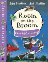 Omslag - Room on the Broom Sticker Book