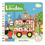 Busy London av Marion Billet (Kartonert)