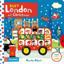Busy London at Christmas av Marion Billet (Kartonert)