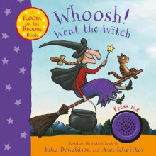 Whoosh! Went the Witch: A Room on the Broom Book av Julia Donaldson (Pappbok)