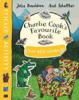 Omslag - Charlie Cook's Favourite Book Sticker Book