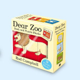 Omslag - Dear Zoo Book and Puzzle Blocks