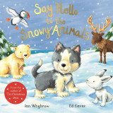 Omslag - Say Hello to the Snowy Animals!