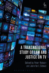 Omslag - A Transnational Study of Law and Justice on TV