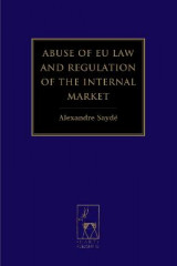 Omslag - Abuse of EU Law and Regulation of the Internal Market
