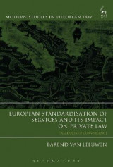 Omslag - European Standardisation of Services and its Impact on Private Law