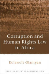 Omslag - Corruption and Human Rights Law in Africa