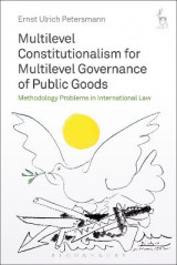 Omslag - Multilevel Constitutionalism for Multilevel Governance of Public Goods