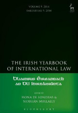 Omslag - The Irish Yearbook of International Law 2014: Volume 9
