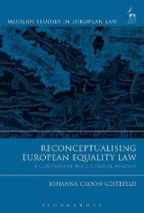 Omslag - Reconceptualising European Equality Law
