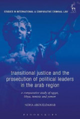 Omslag - Transitional Justice and the Prosecution of Political Leaders in the Arab Region