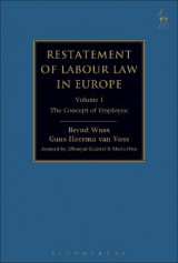 Omslag - Restatement of Labour Law in Europe