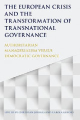 Omslag - The European Crisis and the Transformation of Transnational Governance
