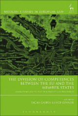 Omslag - The Division of Competences between the EU and the Member States