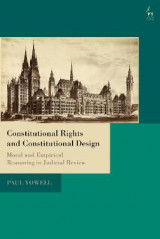 Omslag - Constitutional Rights and Constitutional Design