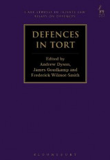 Omslag - Defences in Tort