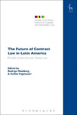 Omslag - The Future of Contract Law in Latin America