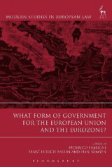 Omslag - What Form of Government for the European Union and the Eurozone?