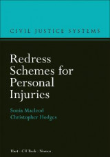 Omslag - Redress Schemes for Personal Injuries