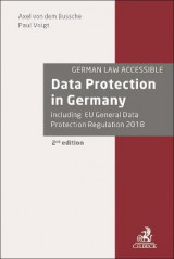 Omslag - Data Protection in Germany
