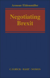 Omslag - Negotiating Brexit