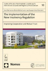 Omslag - The Implementation of the New Insolvency Regulation
