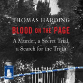 Blood on the Page av Thomas Harding (Lydbok-CD)