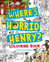 Omslag - Where's Horrid Henry Colouring Book