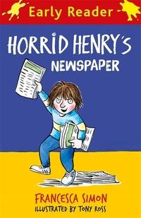 Horrid Henry Early Reader: Horrid Henry's Newspaper av Francesca Simon (Heftet)