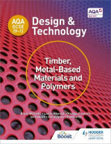 Omslag - AQA GCSE (9-1) Design and Technology: Timber, Metal-Based Materials and Polymers