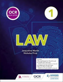 OCR AS/A Level Law Book 1 av Jacqueline Martin og Nicholas Price (Heftet)