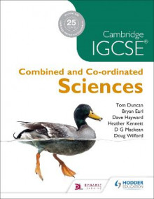 Cambridge IGCSE Combined and Co-ordinated Sciences av D. G. Mackean, Dave Hayward, Doug Wilford, Bryan Earl, Tom Duncan og Heather Kennett (Heftet)