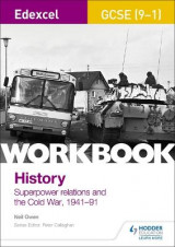 Omslag - Edexcel GCSE (9-1) History Workbook: Superpower relations and the Cold War, 1941-91