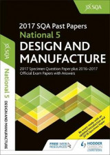 Omslag - National 5 Design & Manufacture 2017-18 SQA Specimen and Past Papers with Answers